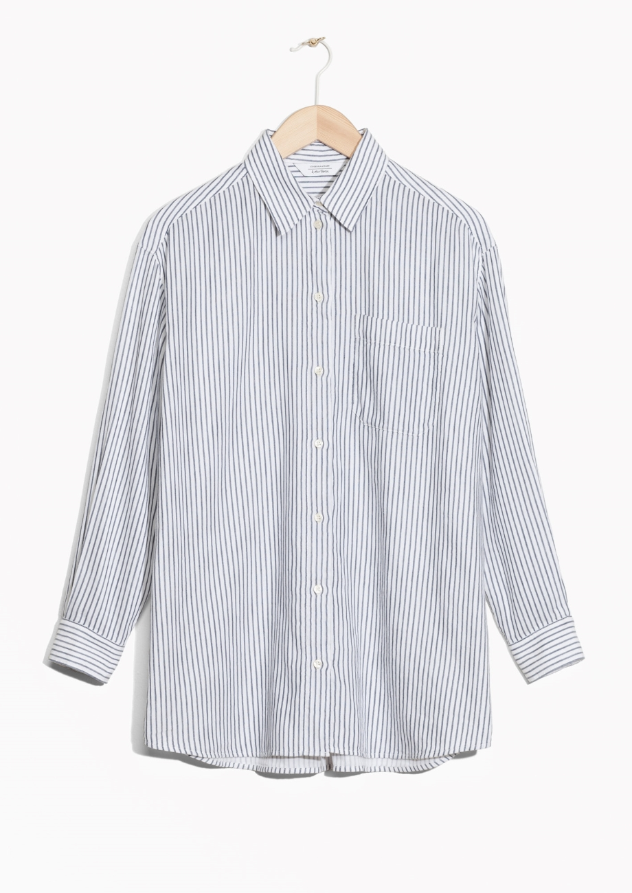 & other stories shirt—striped shirts