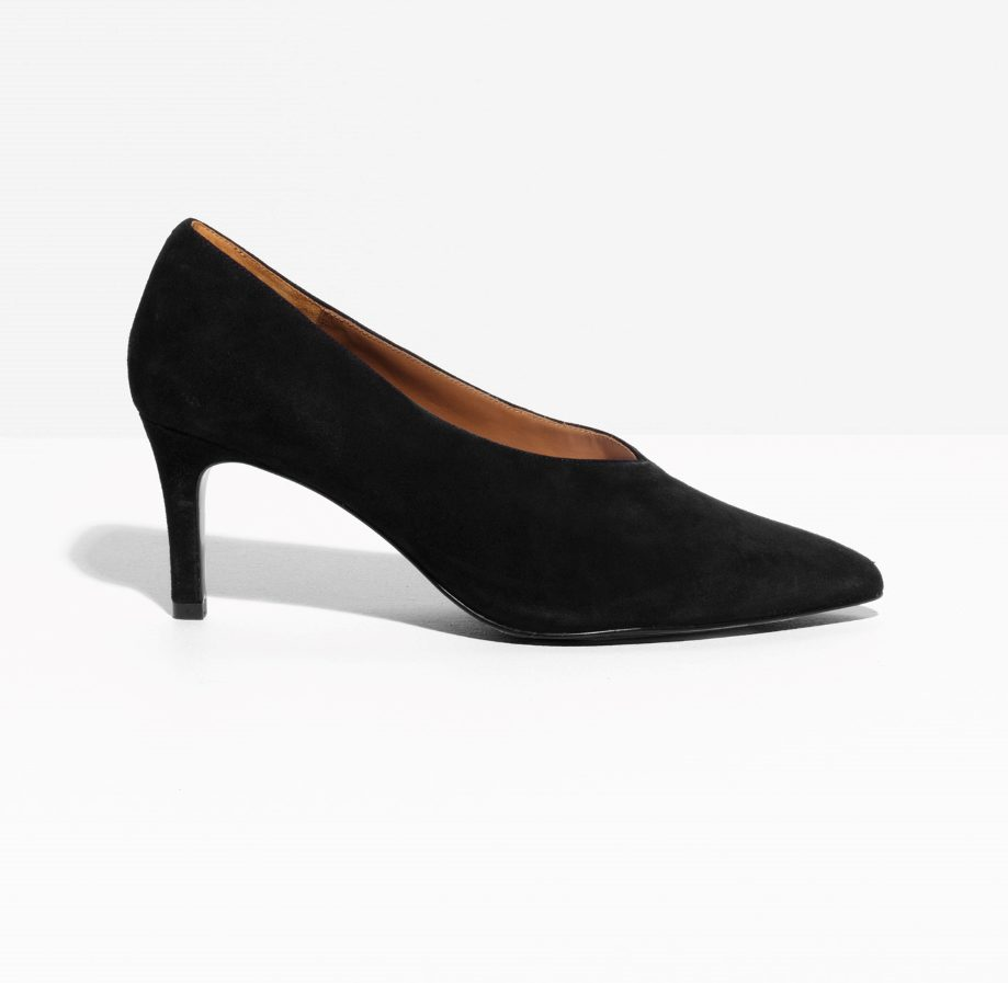 & Other Stories pump—15 wardrobe classics for $150 and under