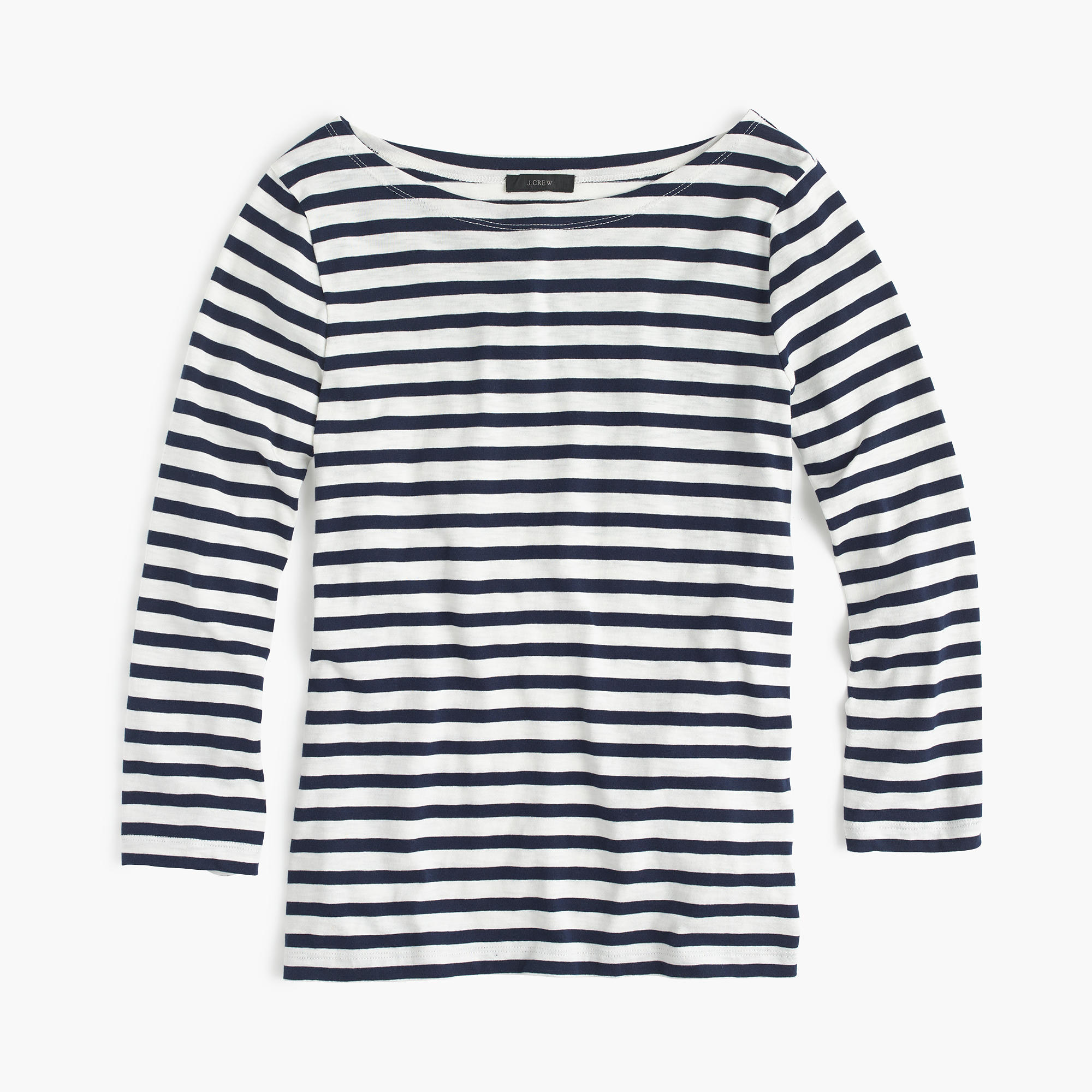 J. Crew striped boatneck tee—15 wardrobe classics for $150 and under