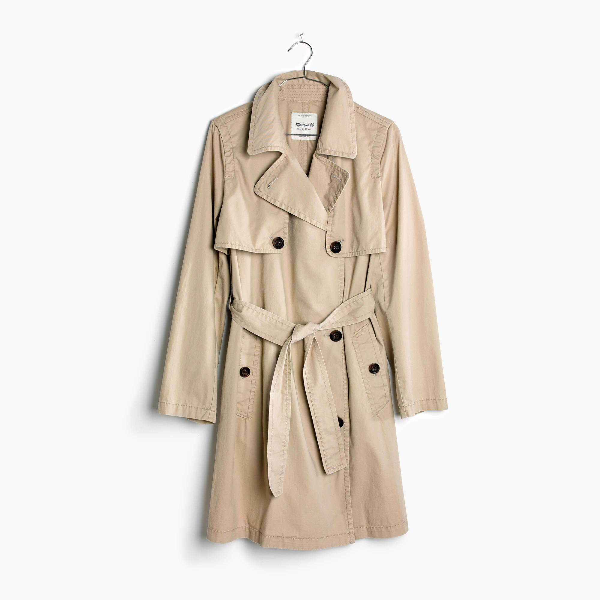 Madewell trench—15 wardrobe classics for $150 and under