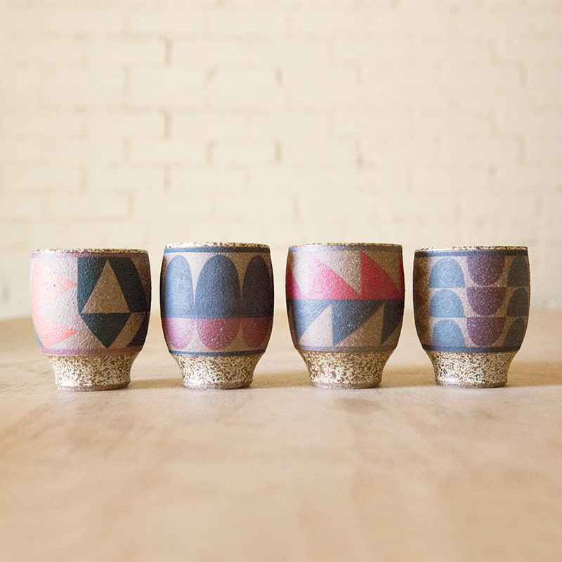 Kat & Roger cups—Some very modern-looking ceramics