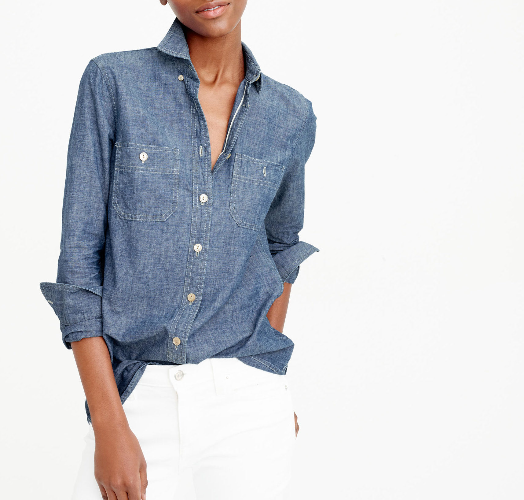 J Crew denim shirt—Wardrobe classics: The denim shirt