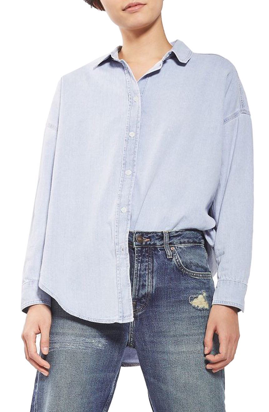 Topshop denim shirt—Wardrobe classics: The denim shirt