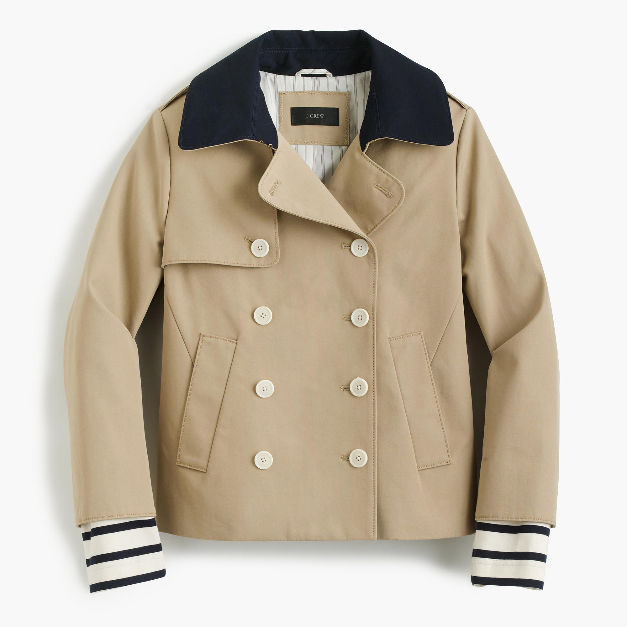 J. Crew trench—Wardrobe classic: The trench