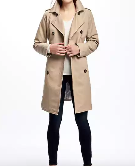Old Navy trench—Wardrobe classic: the trench