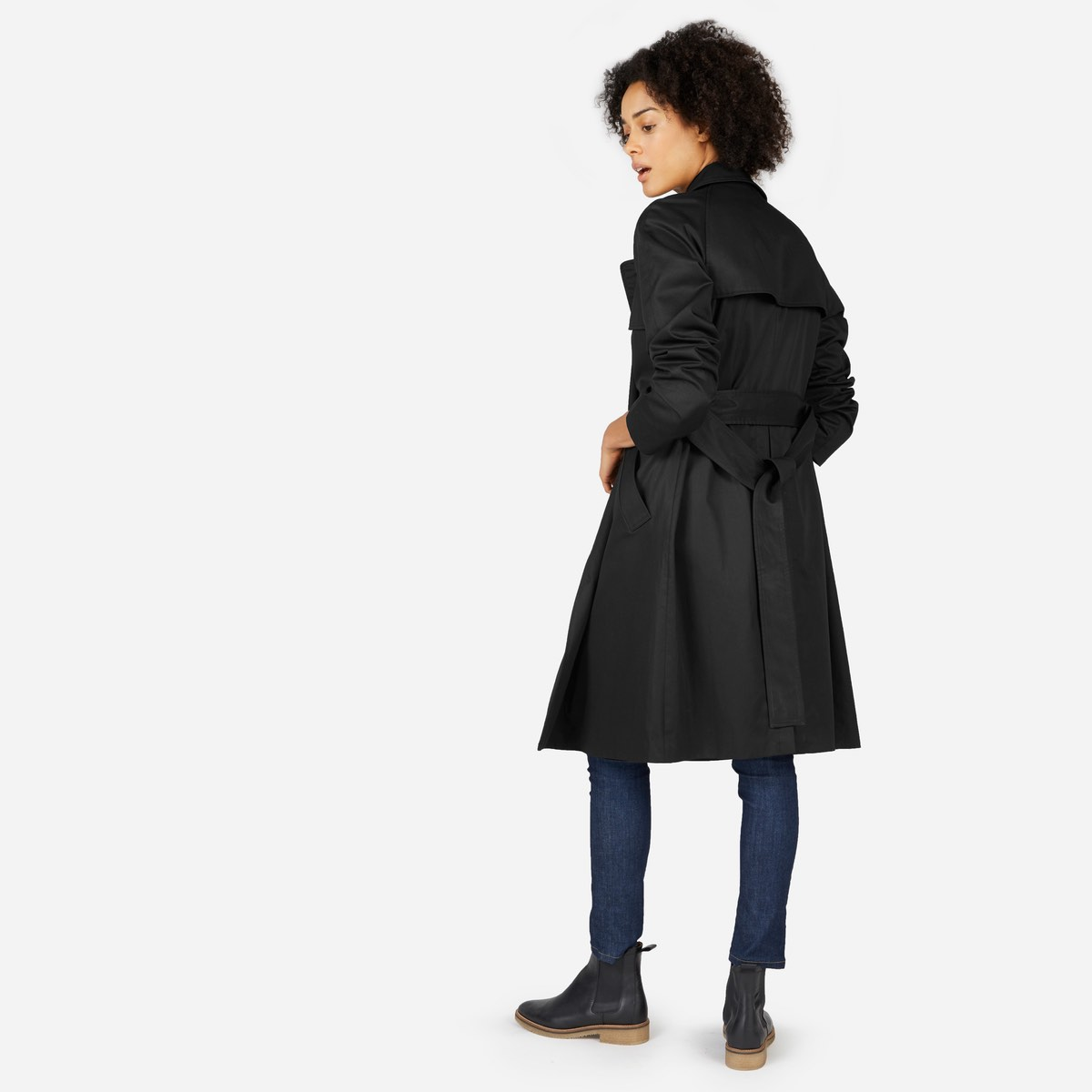 Everlane trench—Wardrobe classic: The trench