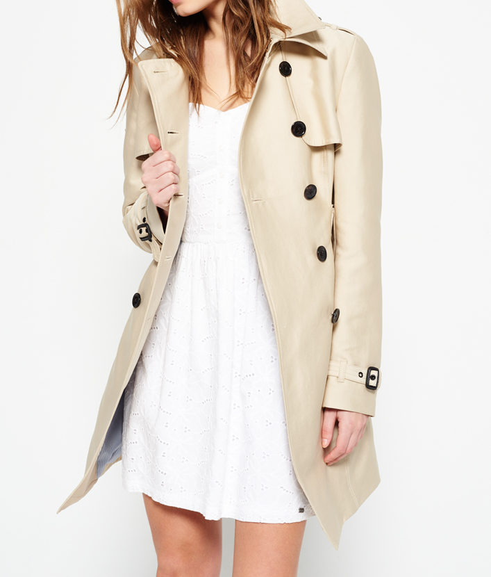 Superdry trench: Wardrobe classic: the trench