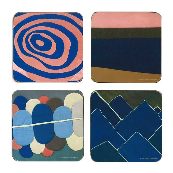 Louise Bourgeois coasters—gifts from museum shops