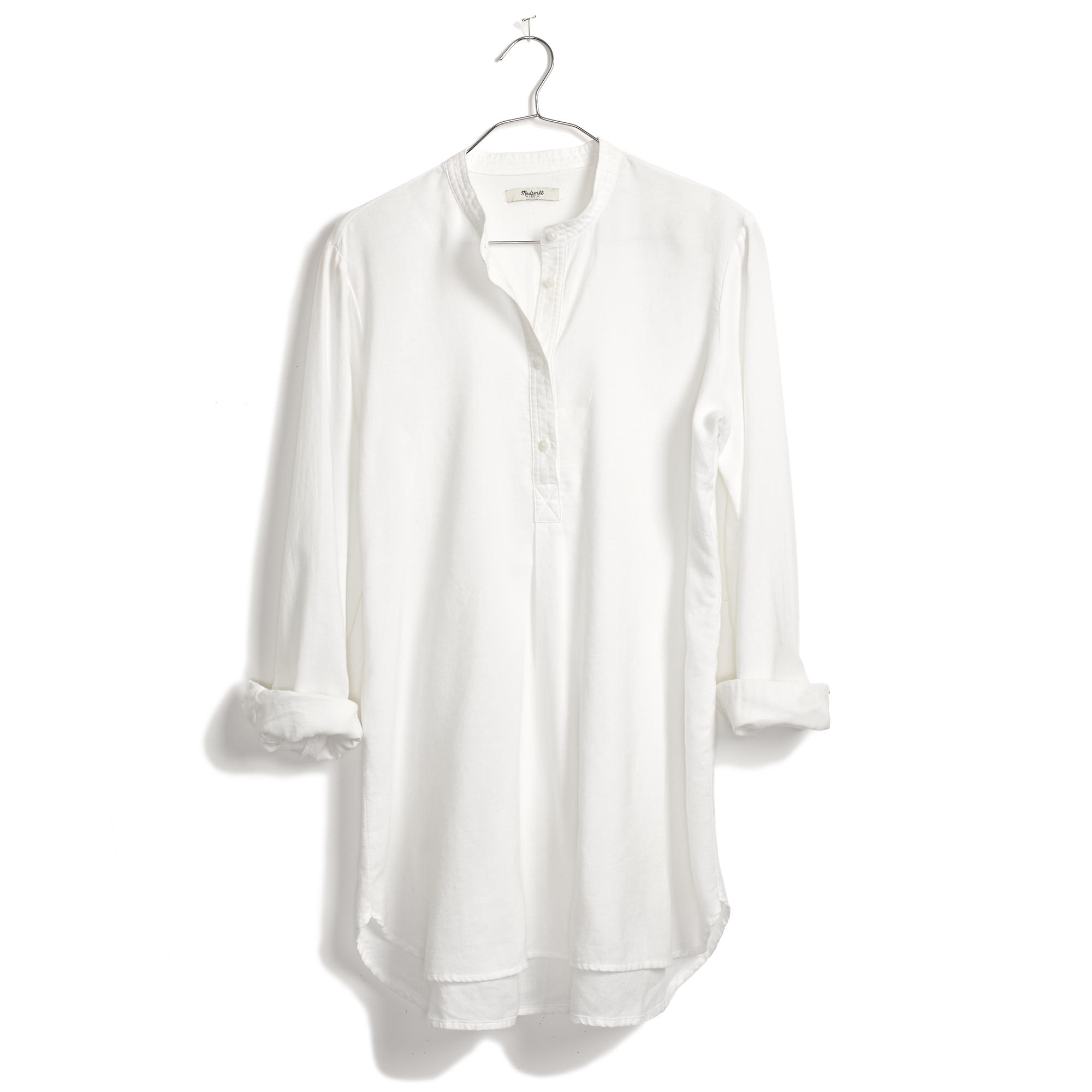 madewell tunic popover