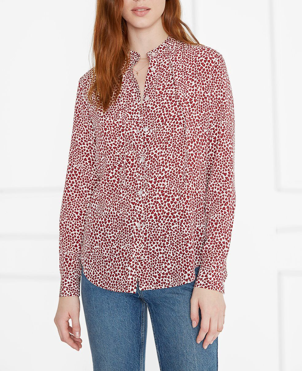 heart blouse